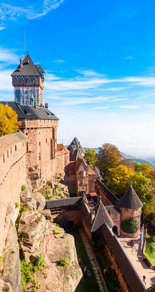 Découvrir l'Alsace